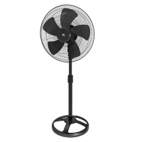 Walton WPF24B-PBC Black Pedestal Fan