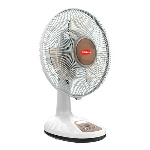 Western Rechargeable Table Fan F0082 Full Specs, Price